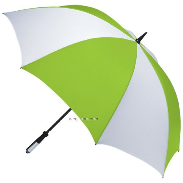 MONOGRAMMED LIME UMBRELLA | Swagger Gifts With Attitude