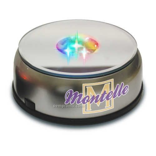 Exhibition Stand Wholesale : Light up display stand w motorized mirror base china