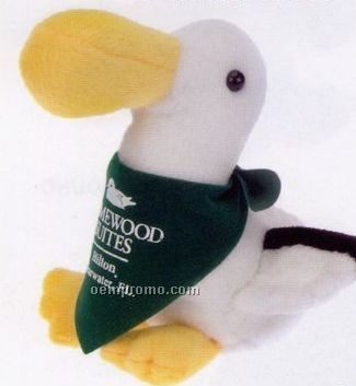 Parrot plush beanie stuffed animal
