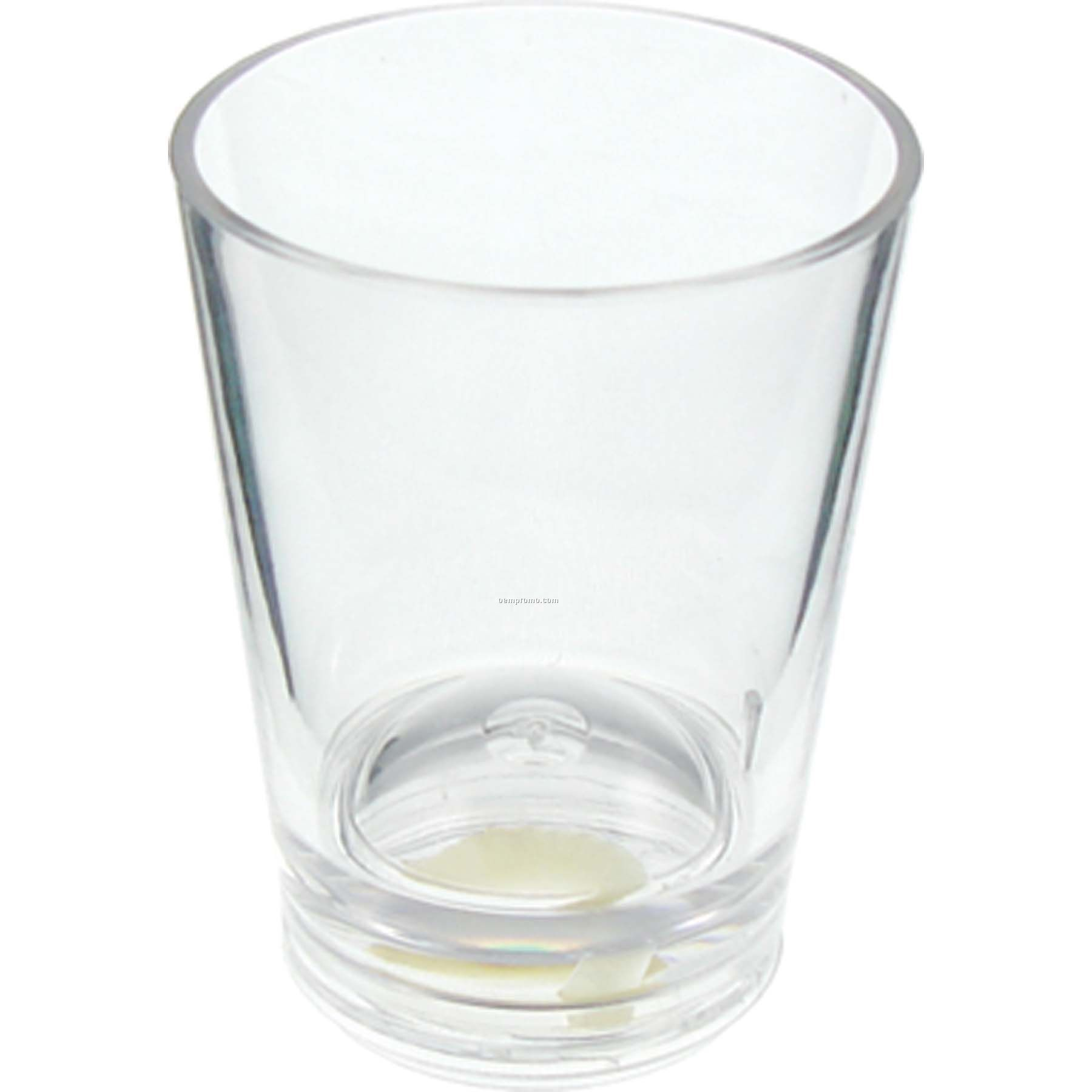 Unbreakable Plastic Shot Glass - 1.5 Oz. - Clearly Acrylic for