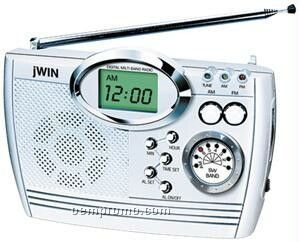 portable am fm lw sw radio w alarm clock china wholesale. Black Bedroom Furniture Sets. Home Design Ideas
