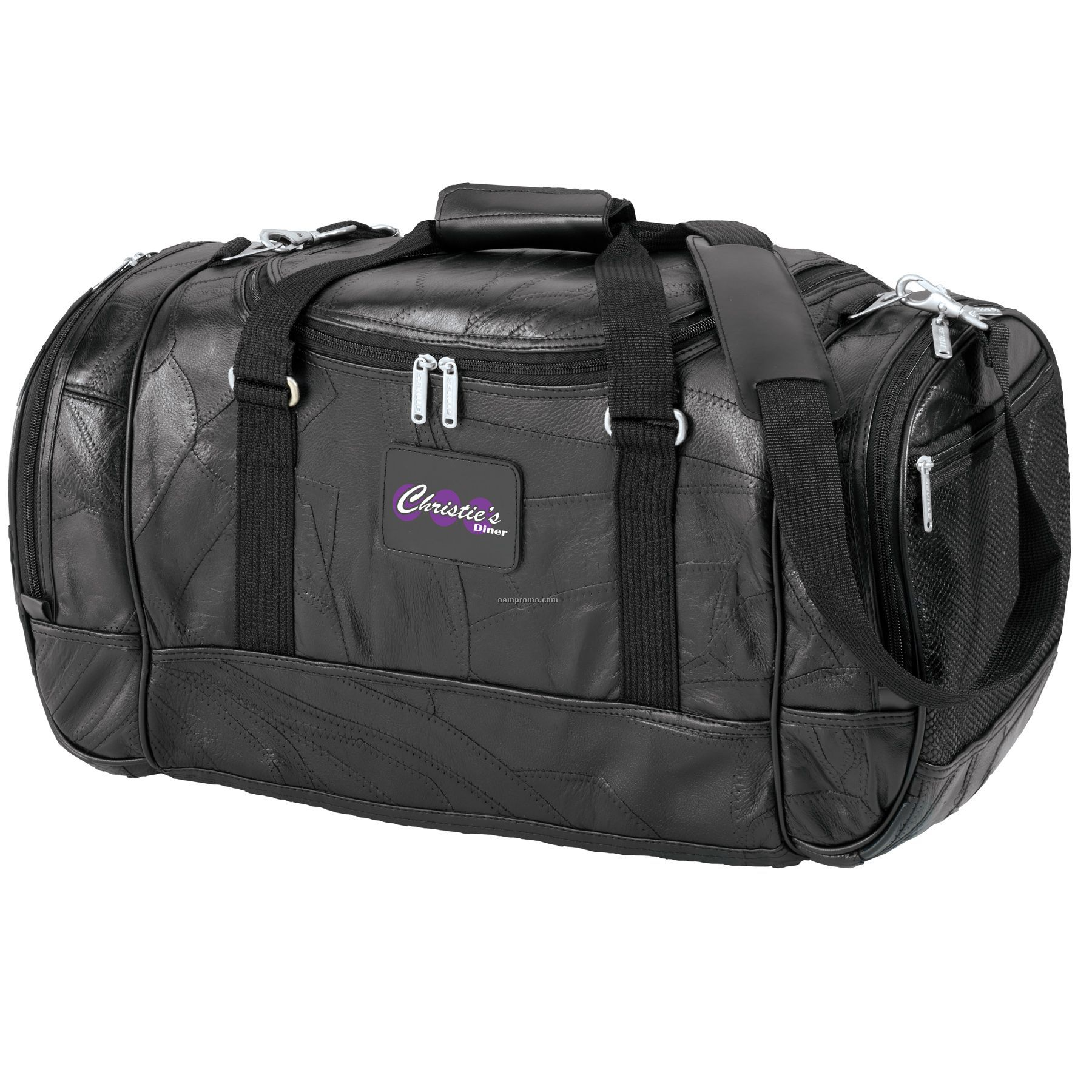 Leather Travel Duffle Bag / Rawlings® Glove-Leather Carry-On