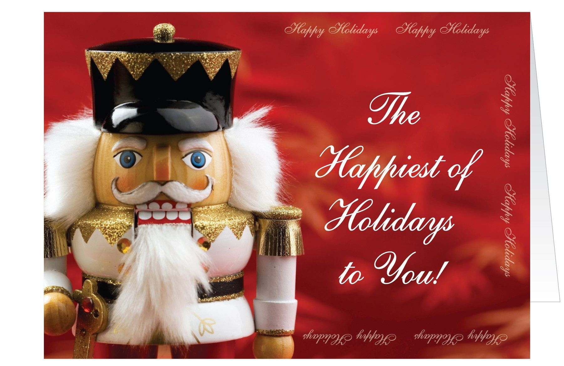 Foundation Of Friendship Holiday Card W/ Lined Envelope