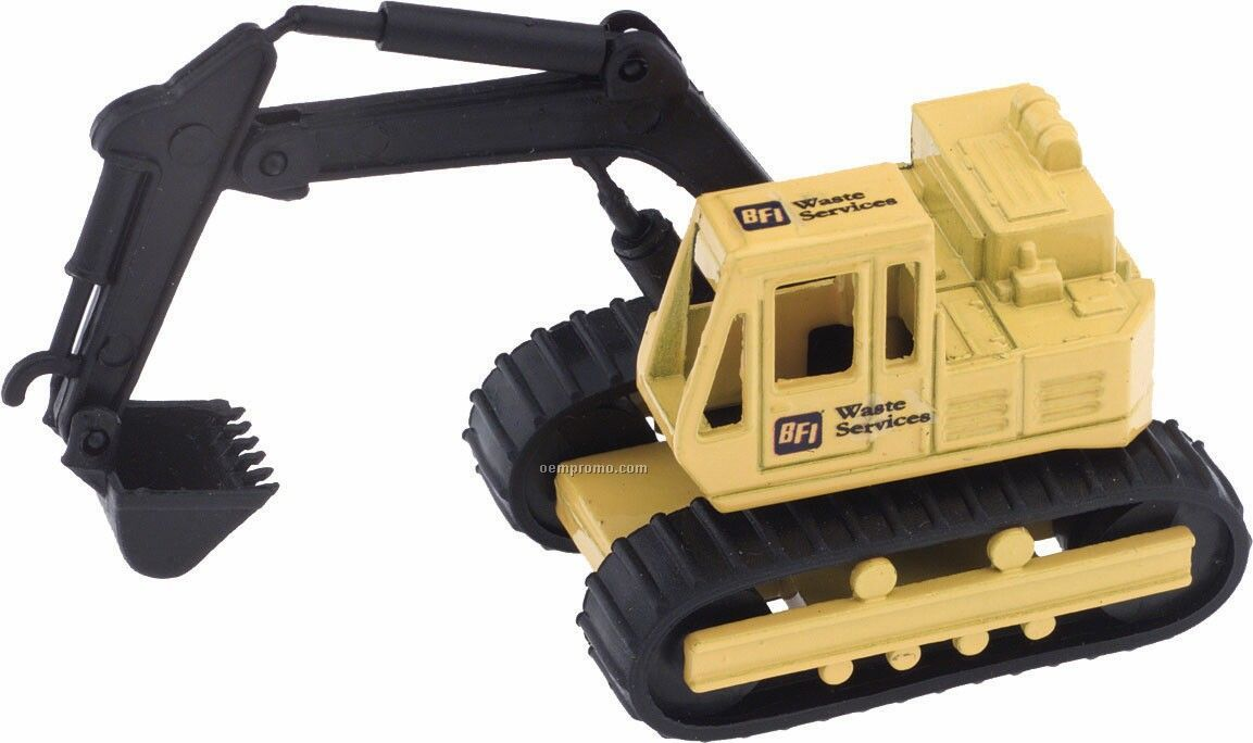 Toys For Trucks Calgary : Die cast yellow backhoe china wholesale