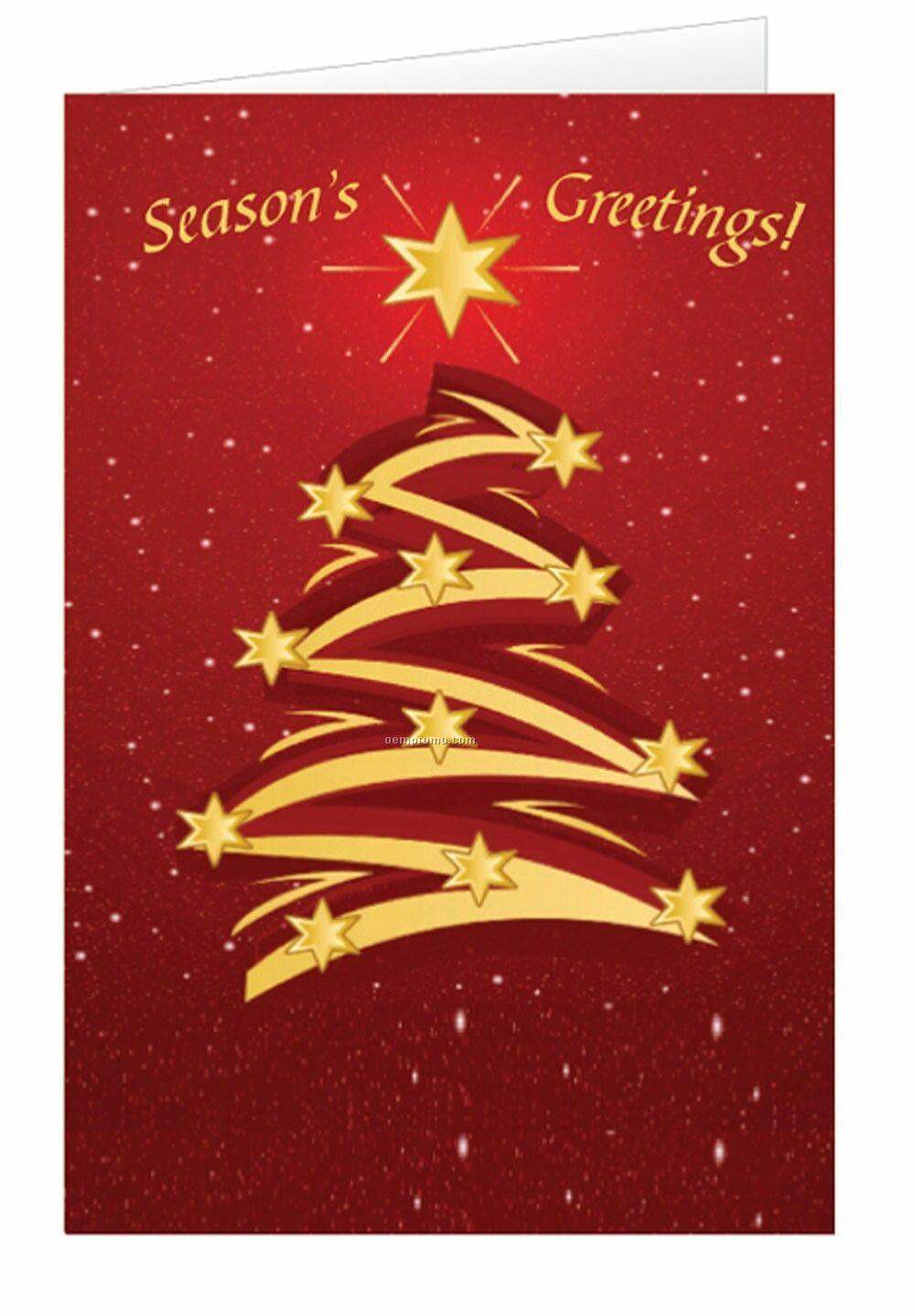 creative christmas tree holiday greeting cardchina