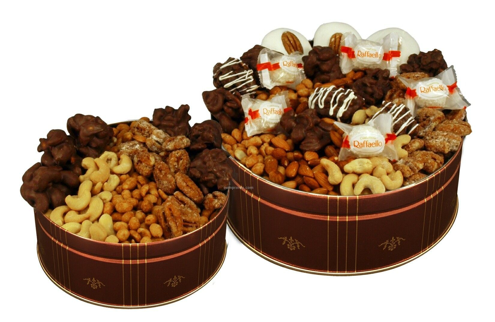 Chocolate Covered Deluxe Nut Assortment (24 Oz. In Regular Canister ...