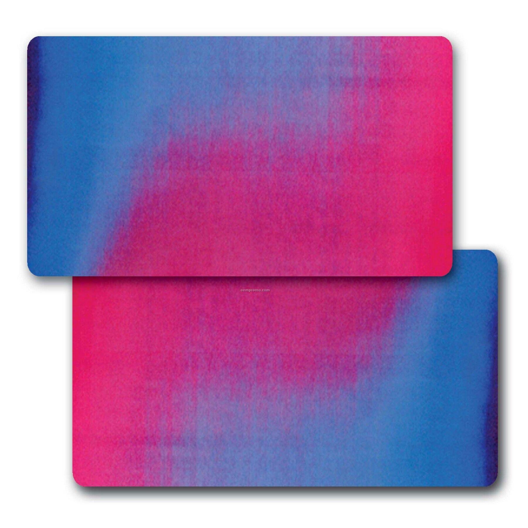 Business Card Lenticular Color Changing Flip Effect