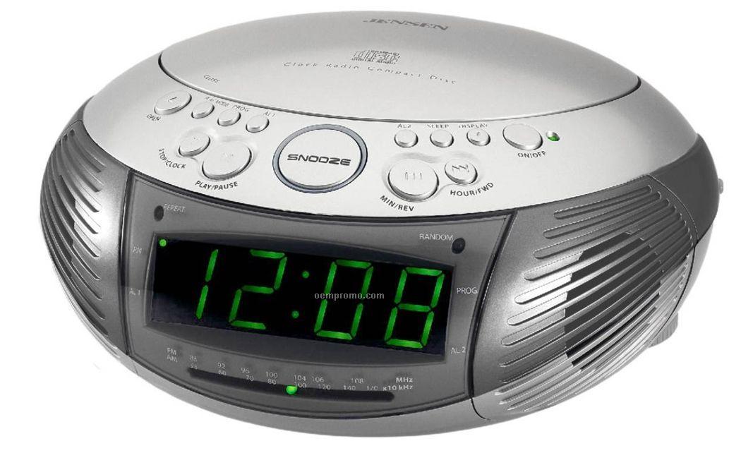am fm dual alarm clock radio w top loading cd player china wholesale am fm dual alarm clock. Black Bedroom Furniture Sets. Home Design Ideas