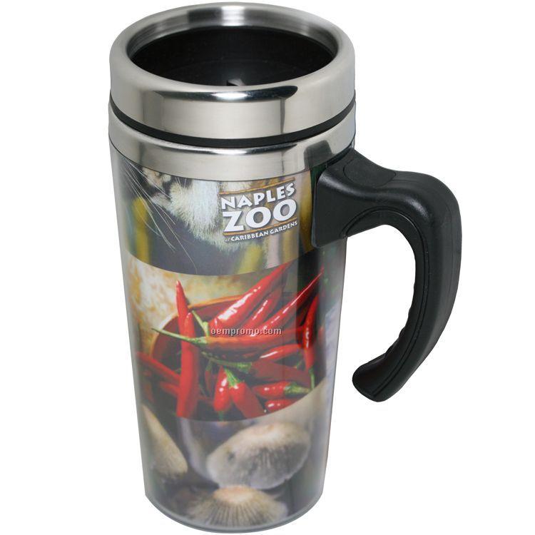 Photo Insert Travel Mug Wholesale