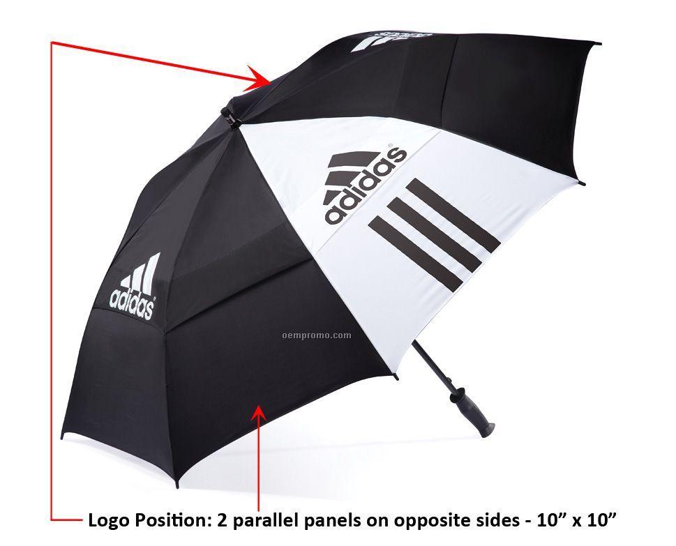 Adidas 64 Quot Double Canopy Auto Open Umbrella 2011 1