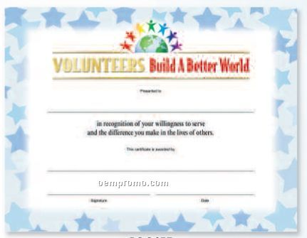 Free printable girl scout volunteer certificates just b for Volunteer recognition certificate template
