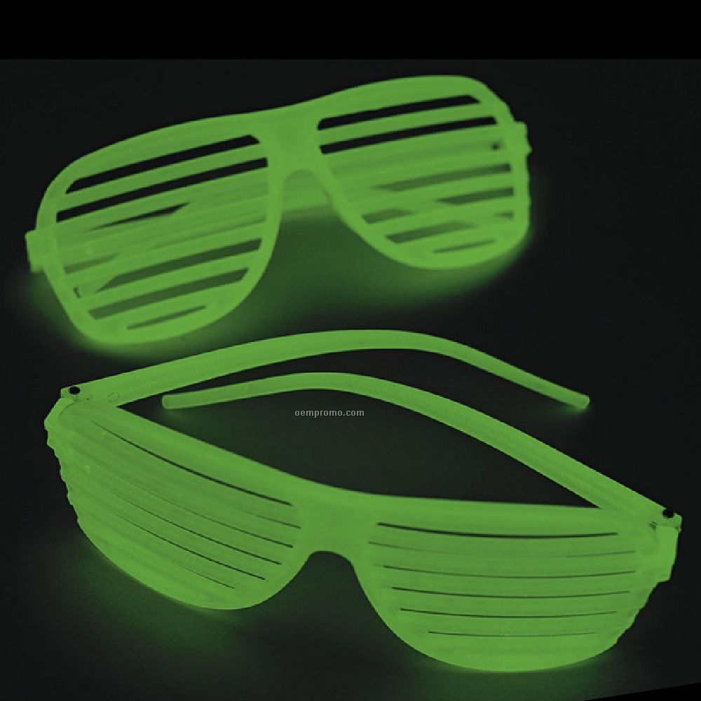 Glow Shutter Shades Sunglasses China Wholesale Glow