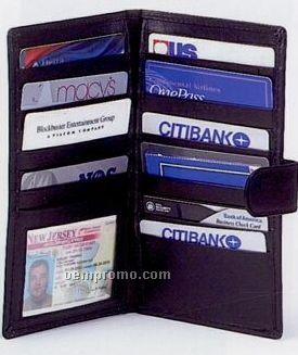 Credit Card Organizer Book
