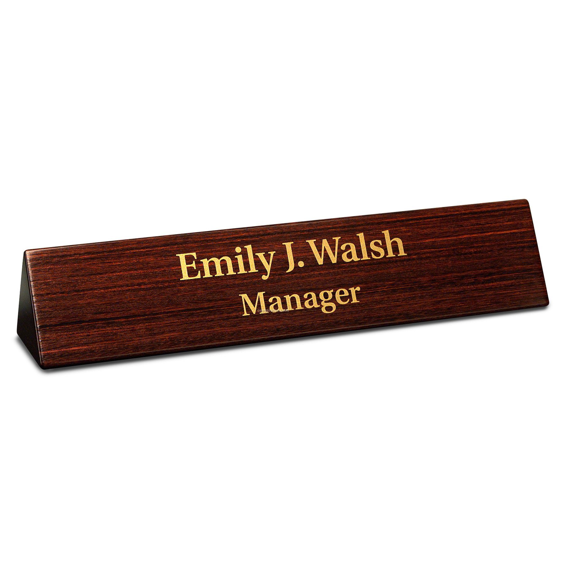 desk accessories dymondwood desk nameplate