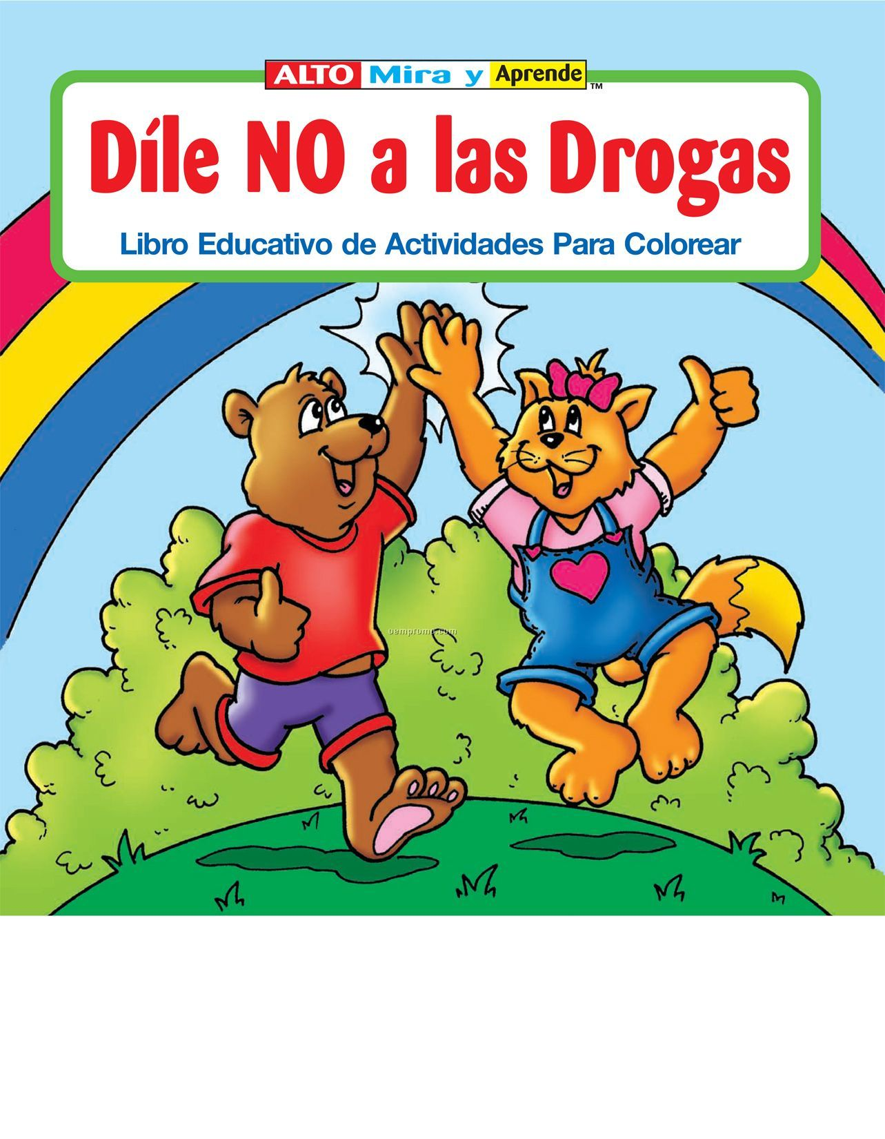 Say No To Drugs Coloring Pages #3