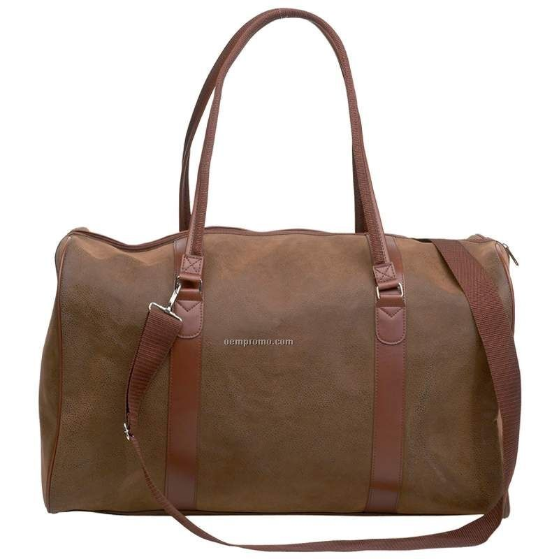 Travel Gear Brown Faux Leather Tote Bag China Wholesale Travel Gear Brown Faux Leather Tote Bag