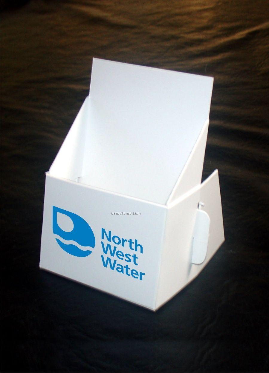 Details About Qty Cardboard Leaflet Brochure Stand Holders ...