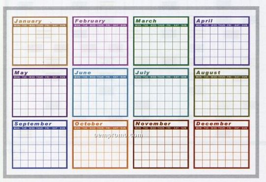 "Year Calendar Dry Erase Board : Search results for ""calendar on whiteboard calendar"