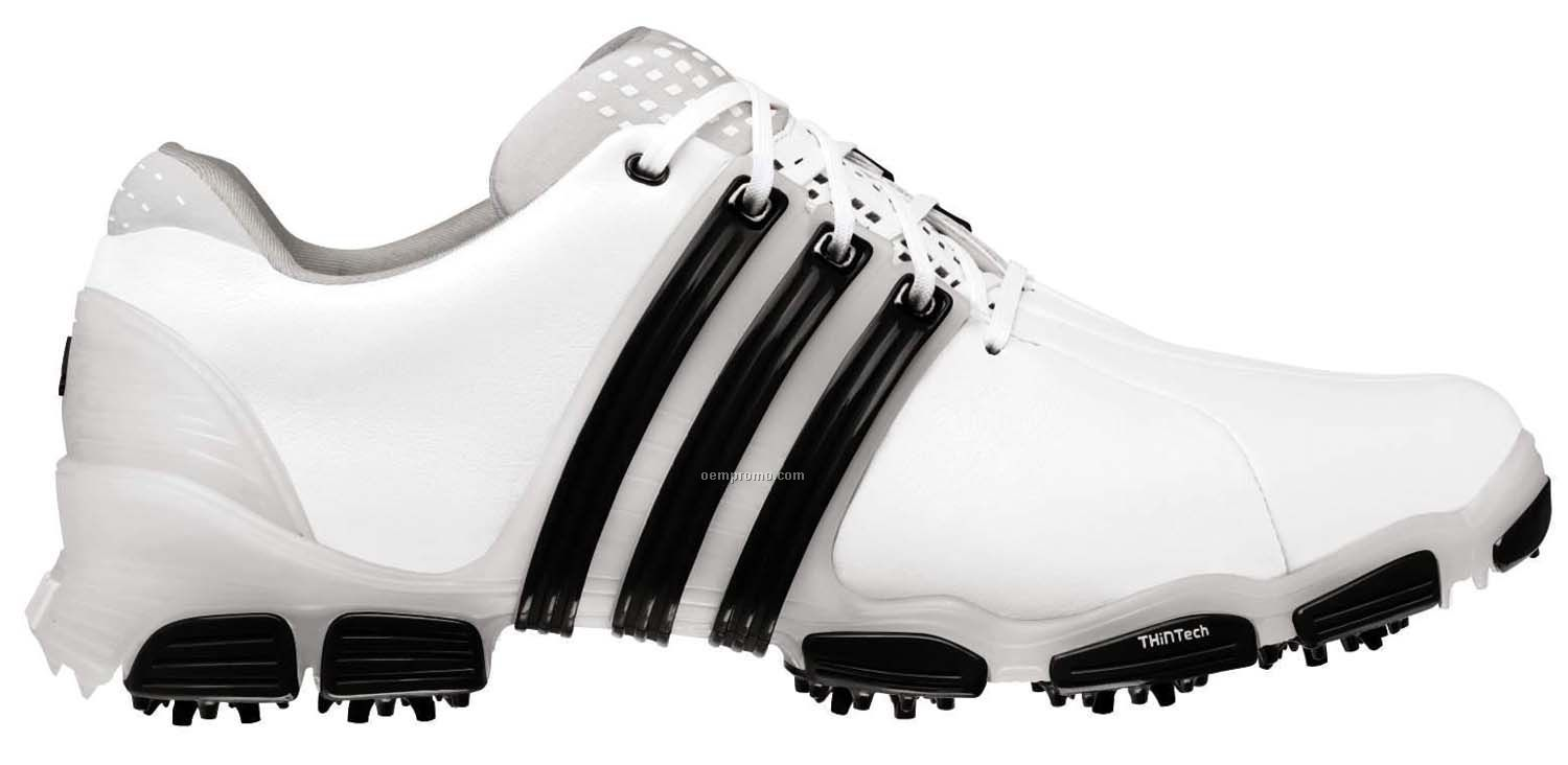 Adidas Tour 360 4.0 Golf Shoes W/ Leather Upper & Perfs (8 ...