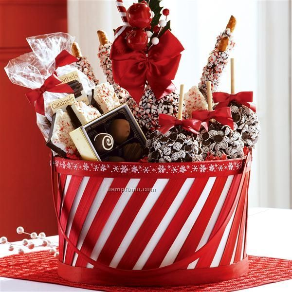 Chocolate Gift Baskets Christmas