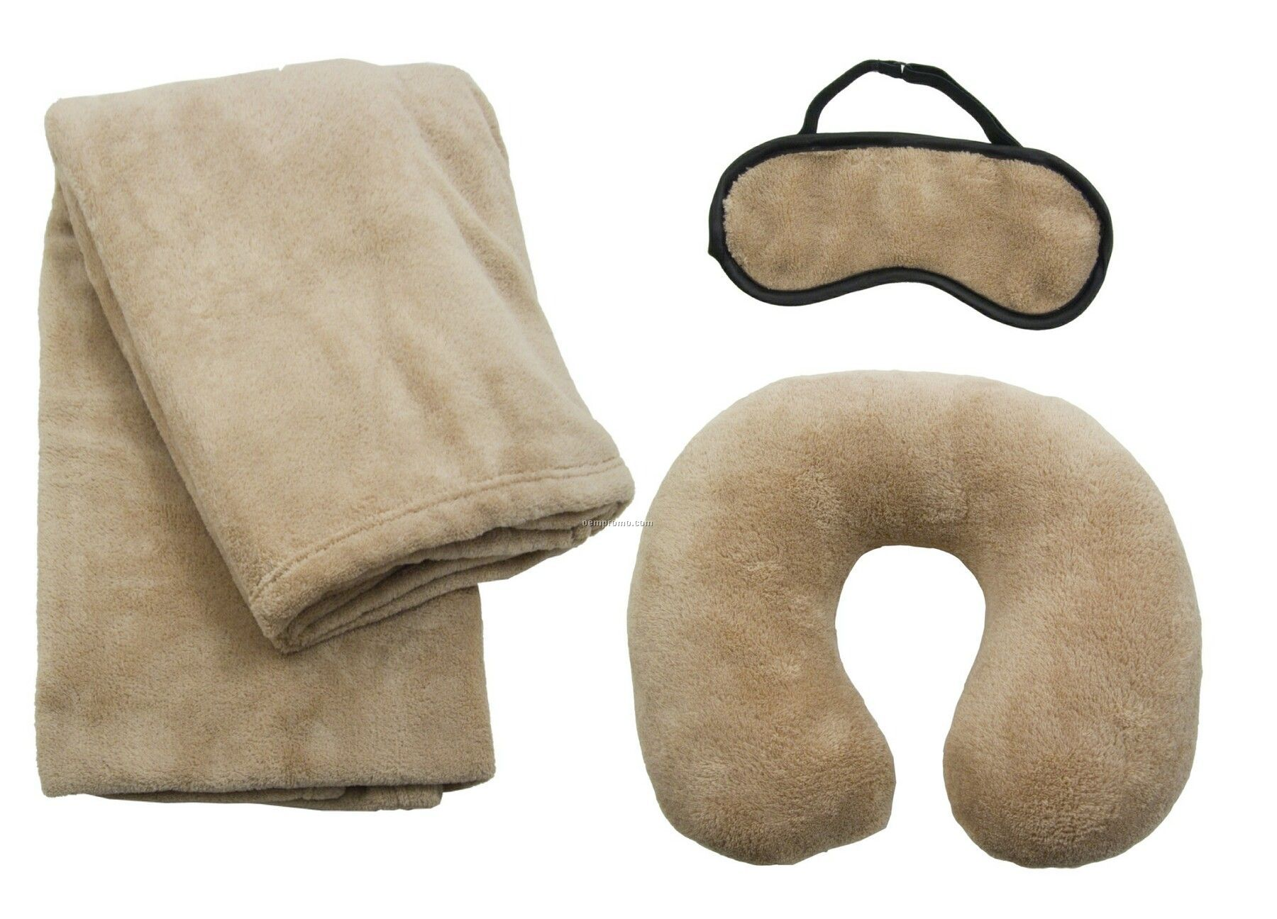 Travel Set W Blanket Pillow Mask Domestic 5 Day Delivery