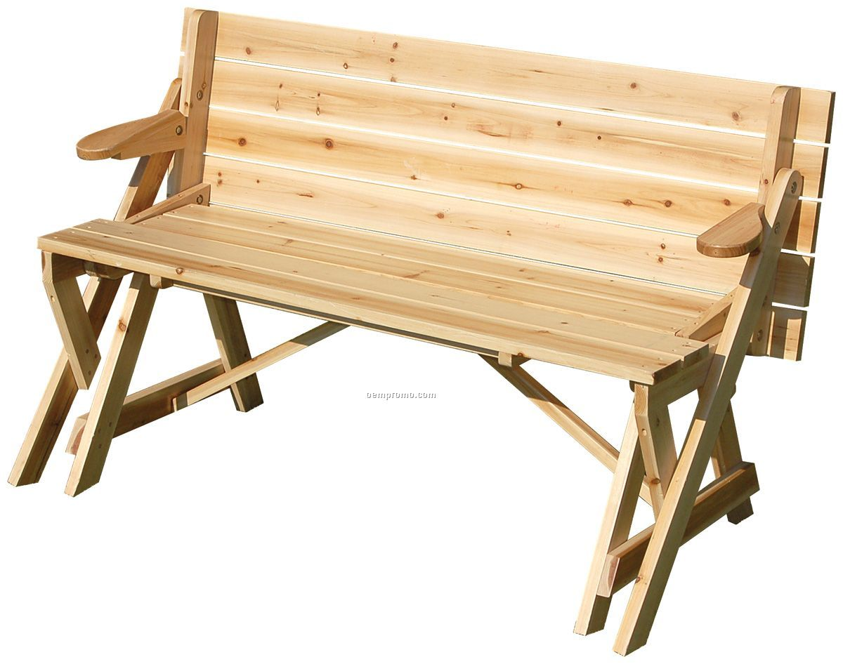How To Make A Folding Picnic Table Bench | Simple Furniture Project