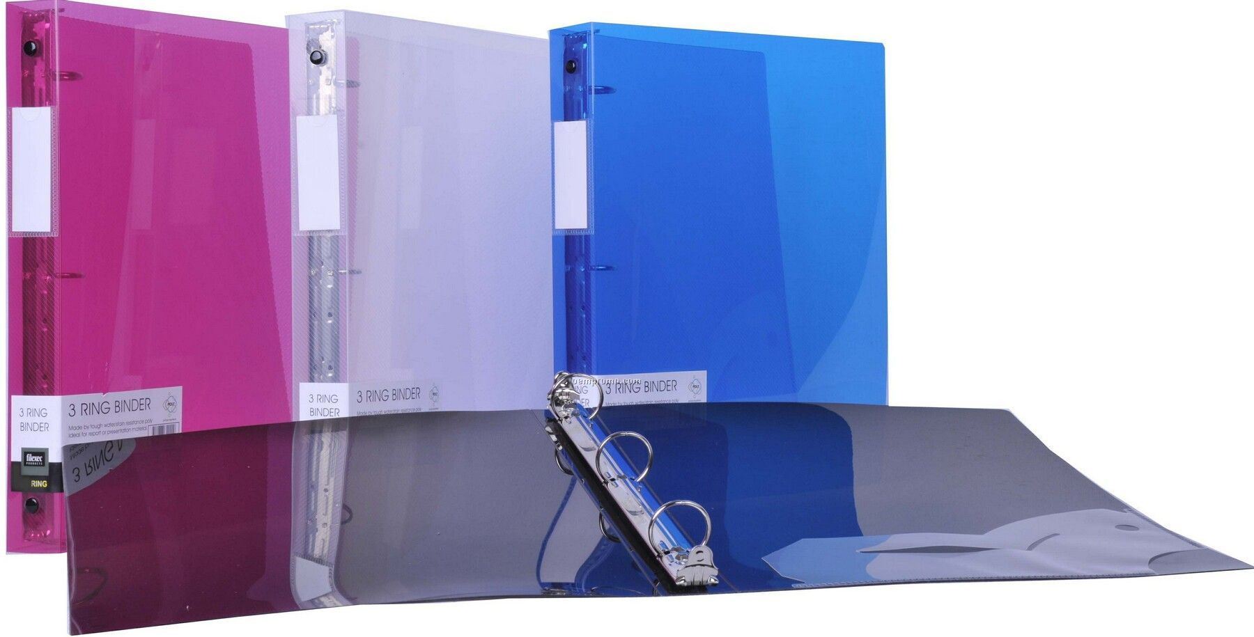 Clear 3 Ring Binder With 1 1 2 Quot Ring China Wholesale Clear
