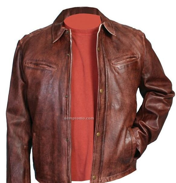 Soft leather jackets for men