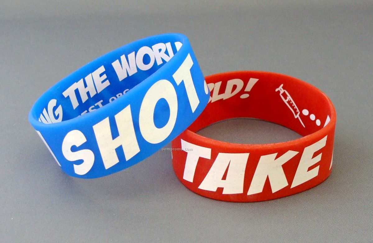 Fundraisers with 100% Custom Silicone Wristbands