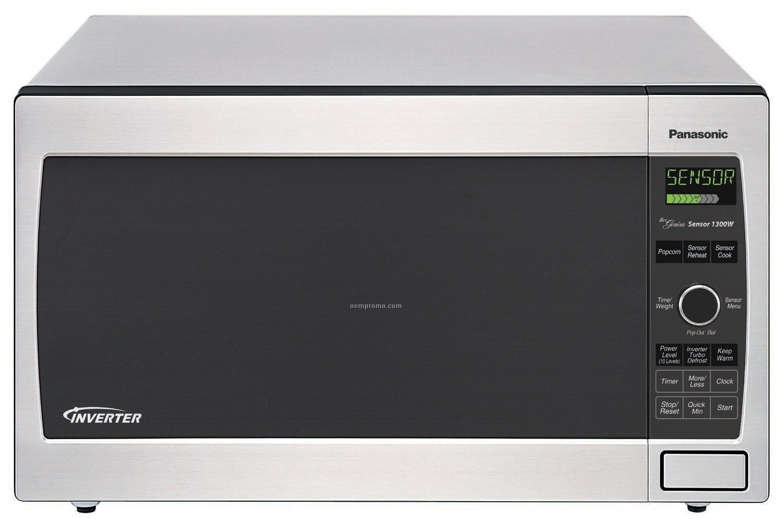 panasonic inverter microwave the genius sensor 1250w manual