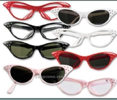 Retro Cat's Eye glasses
