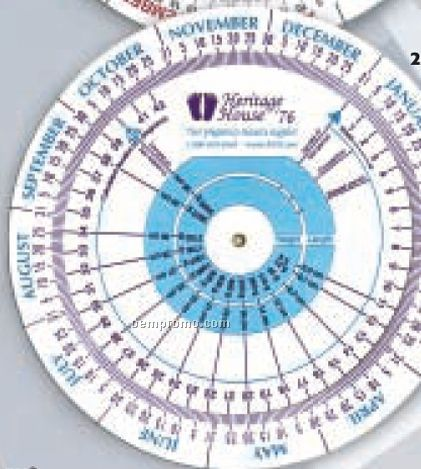Large Pregnancy And Gestation Calculator Chart China