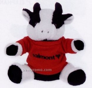 Extra soft cow plush stuffed animal